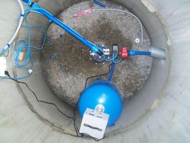Установка оборудования на скважину своими руками